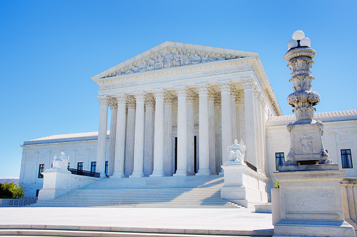 US Supreme Court Building「U.S. Supreme Court Building in Washington DC USA」:スマホ壁紙(13)