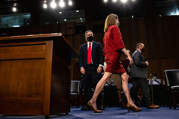 Decisions「Senate Holds Confirmation Hearing For Amy Coney Barrett To Be Supreme Court Justice」:写真・画像(10)[壁紙.com]