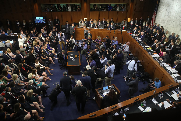 Court Hearing「Senate Holds Confirmation Hearing For Brett Kavanaugh To Be Supreme Court Justice」:写真・画像(11)[壁紙.com]