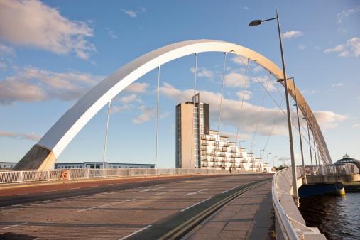 Glasgow - Scotland「Squinty Bridge, Glasgow」:スマホ壁紙(7)