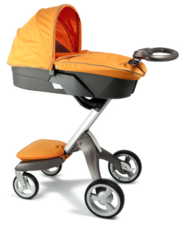 Baby Carriage「Child's pram with carry cot attachment」:スマホ壁紙(13)
