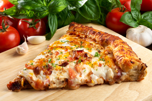 Convenience Food「Barbecue Chicken with Bacon PIzza」:スマホ壁紙(12)
