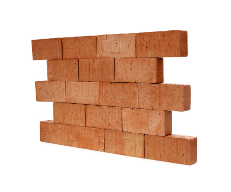 Brick Wall「Isolated brick wall」:スマホ壁紙(4)