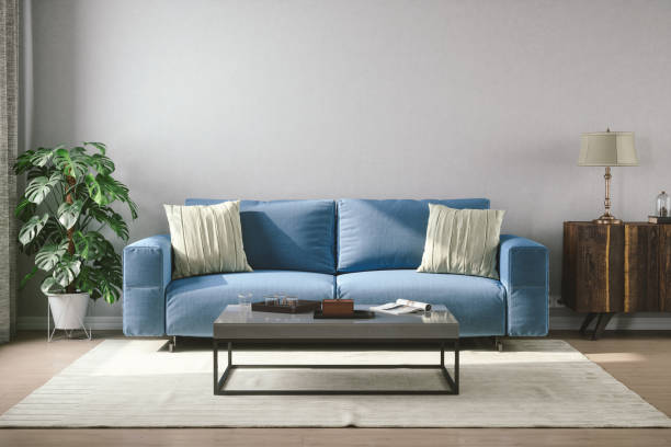 Vintage Style Living Room:スマホ壁紙(壁紙.com)