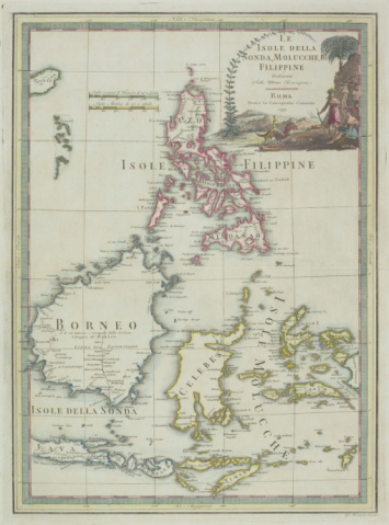 Latitude「Antique map of the Philippines with Borneo and Sumatra and Java」:スマホ壁紙(15)