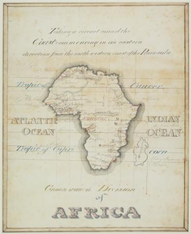 Latitude「Antique map of Africa and Madagascar」:スマホ壁紙(14)