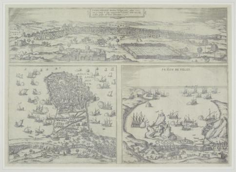Battle「Antique map depicting warfare along Barbary Coast of Africa」:スマホ壁紙(7)