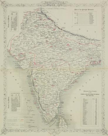 Latitude「Antique map of British India」:スマホ壁紙(13)