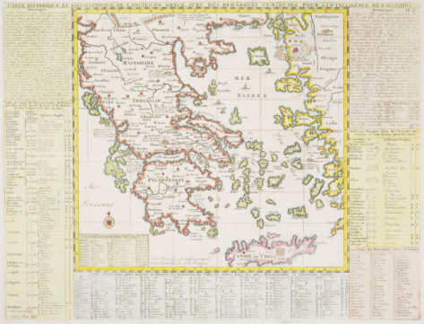 Latitude「Antique map of Greece」:スマホ壁紙(14)
