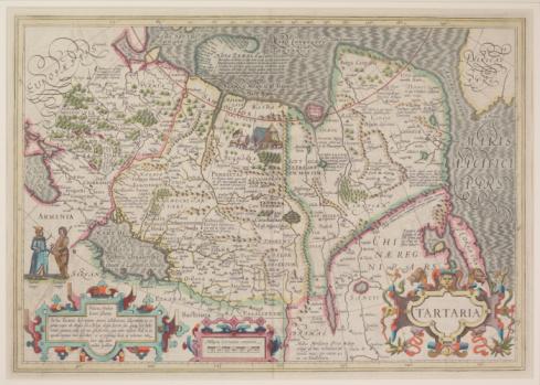 Latitude「Antique map of Tartaria , present day Romania」:スマホ壁紙(17)