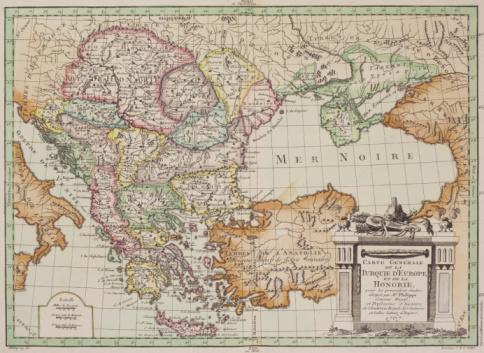 Latitude「Antique map of Eastern Europe」:スマホ壁紙(2)