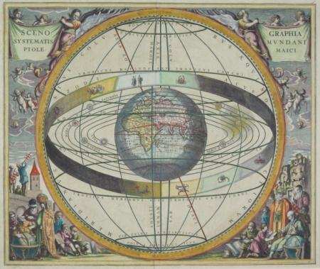 Latitude「Antique map depicting Earth and zodiac calendar」:スマホ壁紙(10)
