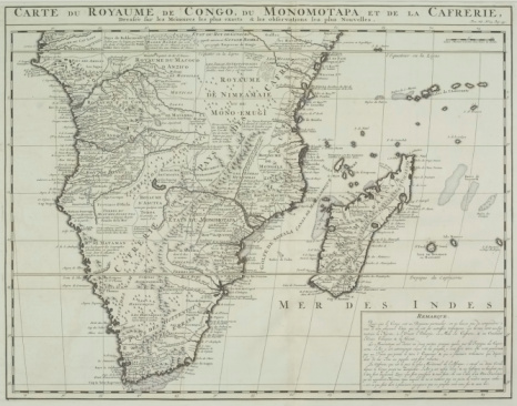Latitude「Antique map of southern Africa and Madagascar」:スマホ壁紙(12)