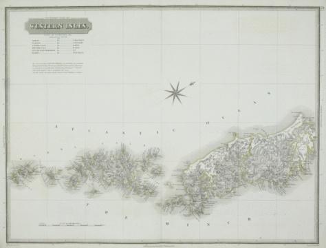 Latitude「Antique map of the western isles」:スマホ壁紙(4)