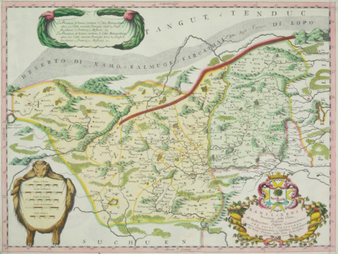 Explorer「Antique map of route of Marco Polo」:スマホ壁紙(17)