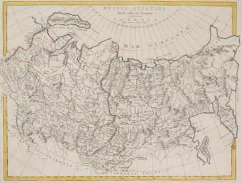 Latitude「Antique map of Russia and Asiatica」:スマホ壁紙(6)