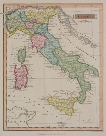 Latitude「Antique map of Italy and surrounding islands」:スマホ壁紙(5)