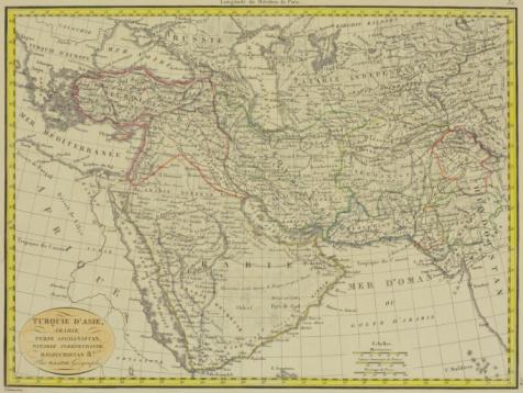 Latitude「Antique map of Turkish Empire in Asia」:スマホ壁紙(5)