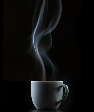 Coffee - Drink「Coffee or Tea Cup with Steam」:スマホ壁紙(7)