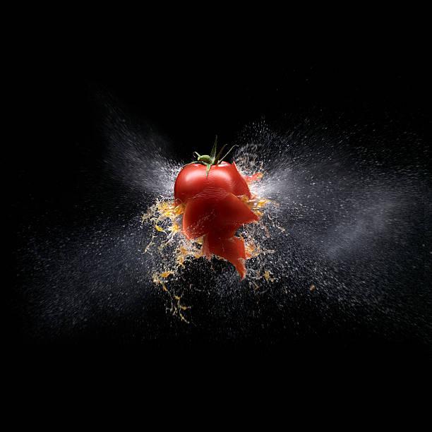 tomato shootout 02 def:スマホ壁紙(壁紙.com)