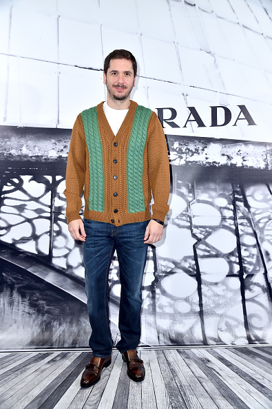 Cardigan Sweater「Prada Hosts A Cocktail Reception To Present The Resort 2018 Collection In Its Rome Stores」:写真・画像(16)[壁紙.com]