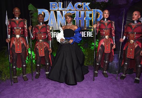 封切り「The Los Angeles World Premiere of Marvel Studios' BLACK PANTHER」:写真・画像(11)[壁紙.com]