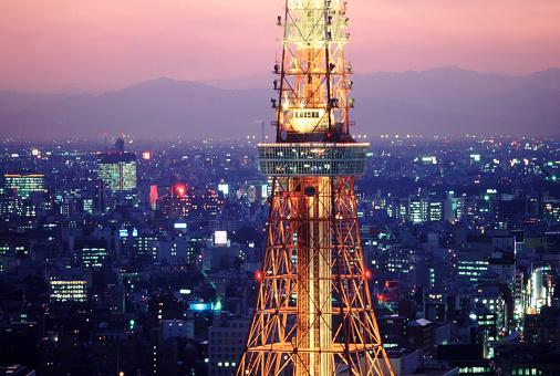 Postmodern「Tokyo Tower」:スマホ壁紙(4)
