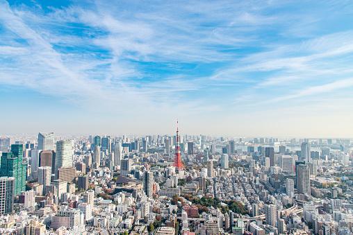 Japan「東京タワー 」:スマホ壁紙(4)