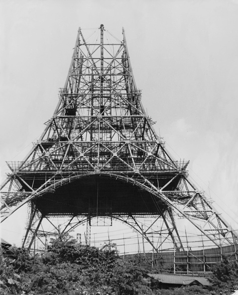 Construction Site「Tokyo Tower」:写真・画像(7)[壁紙.com]