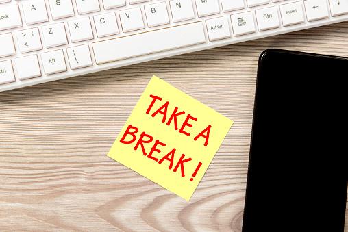 Employment And Labor「Take a break」:スマホ壁紙(16)