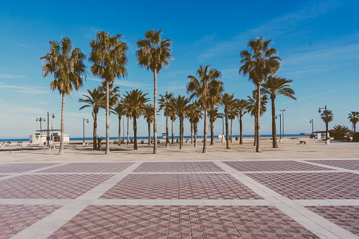Bay of Water「Malvarrosa beach in Valencia,Spain」:スマホ壁紙(8)