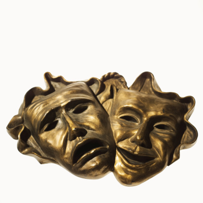 Frowning「Comedy and tragedy theatre masks」:スマホ壁紙(6)
