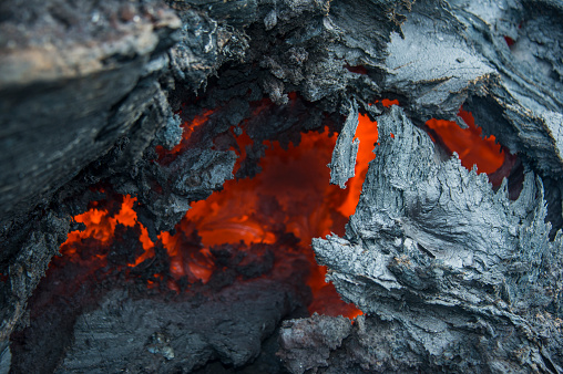 Lava「Active lava stream, Tolbachik volcano, Kamchatka, Russia」:スマホ壁紙(17)