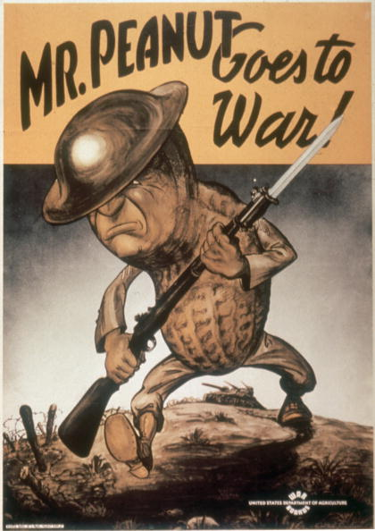 Nut - Food「'Mr. Peanut Goes To War!'」:写真・画像(12)[壁紙.com]