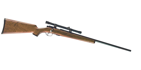 Slanted「Rifle with Clipping Path」:スマホ壁紙(6)