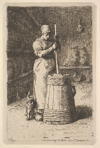Ruffled「Woman Churning Butter」:写真・画像(9)[壁紙.com]