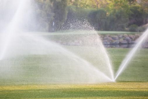 Sprinkler「Watering the Turf」:スマホ壁紙(8)