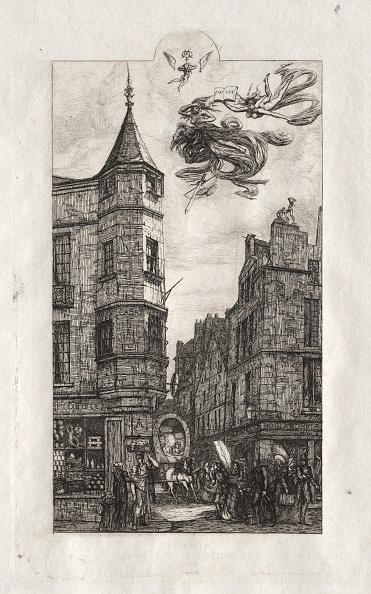 Etching「Etchings Of Paris: Tourelle」:写真・画像(10)[壁紙.com]