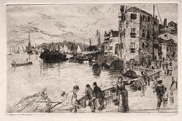 Etching「Etchings Of Venice: Castello Quarters」:写真・画像(11)[壁紙.com]