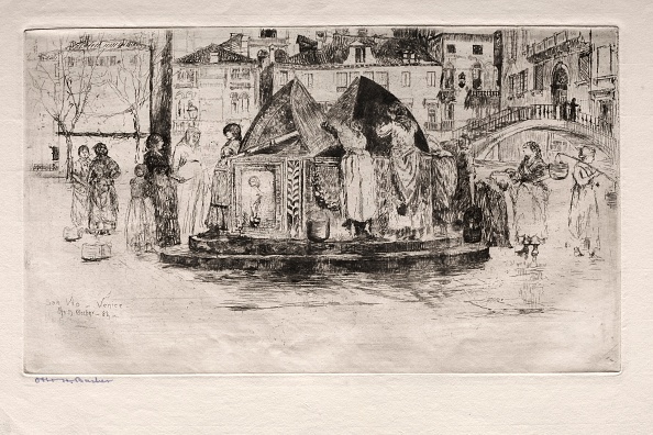 Etching「Etchings Of Venice: Pozzo San Vio」:写真・画像(12)[壁紙.com]