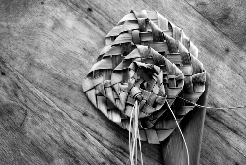 New Zealand Culture「Putiputi woven from flax」:スマホ壁紙(4)