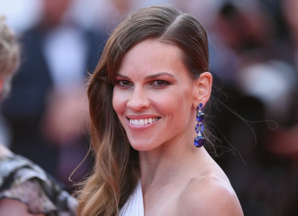 "Hilary Swank「""The Homesman"" Premiere - The 67th Annual Cannes Film Festival」:写真・画像(0)[壁紙.com]"