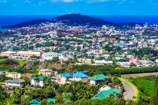 French Overseas Territory「New Caledonia, Noumea, cityview」:スマホ壁紙(7)