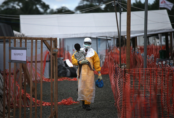 Africa「Liberia Races To Expand Ebola Treatment Facilities, As U.S. Troops Arrive」:写真・画像(13)[壁紙.com]