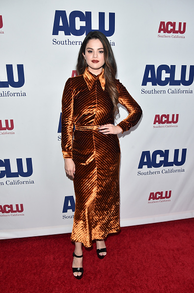 Velvet「ACLU SoCal's Annual Bill Of Rights Dinner - Arrivals」:写真・画像(2)[壁紙.com]