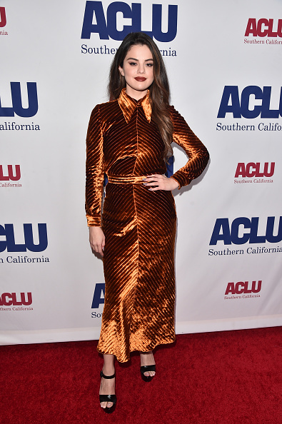 Selena Gomez「ACLU SoCal's Annual Bill Of Rights Dinner - Arrivals」:写真・画像(10)[壁紙.com]