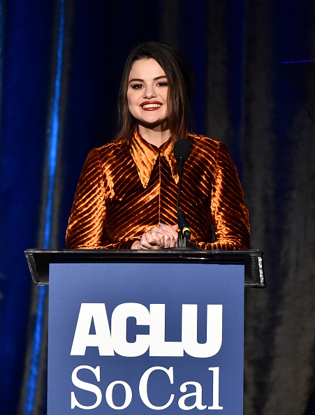 Selena Gomez「ACLU SoCal's Annual Bill Of Rights Dinner - Show」:写真・画像(1)[壁紙.com]