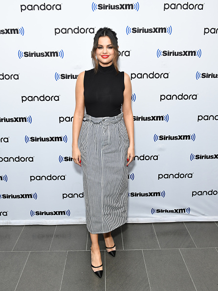 Selena Gomez「Selena Gomez Visits The SiriusXM Studios In New York City」:写真・画像(11)[壁紙.com]