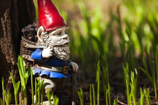 Belt「Vintage gnome garden statuette.」:スマホ壁紙(2)