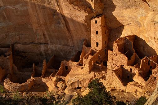 Cliff Dwelling「Mesa Verde Square Tower House Ruin Complex」:スマホ壁紙(11)